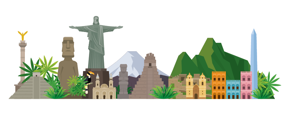 Famous monuments in Latin America